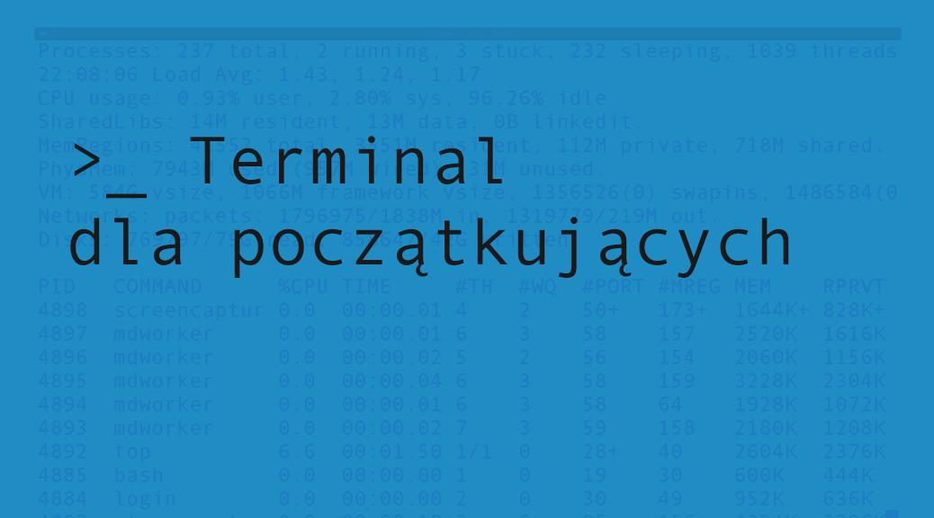 Terminal dla początkujących